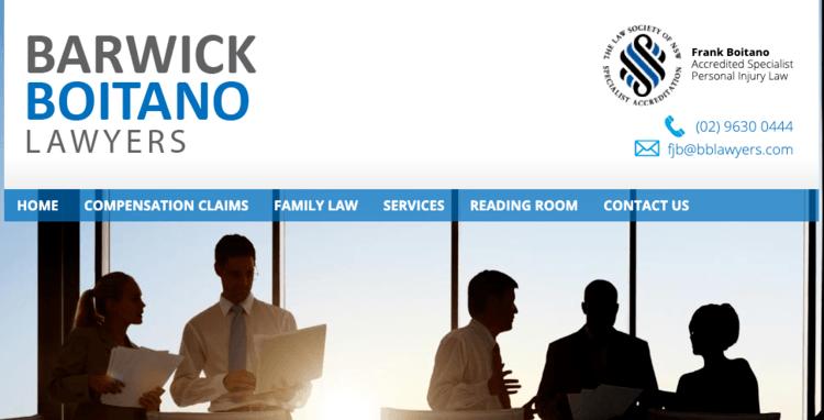 Barwick Boitano Lawyers